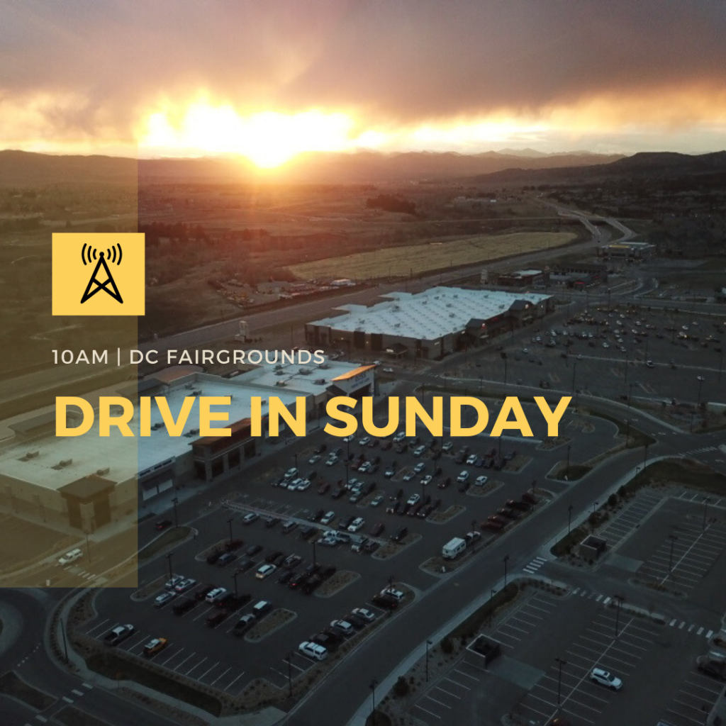 Drive In Worship Service